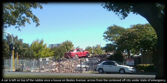 Christchurch, New Zealand: Earthquake Aftermath