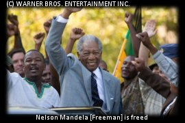 Nelson Mandela is freed