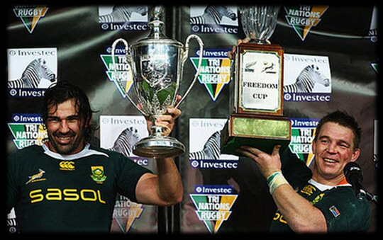 South Africa win Tri Nations 2009